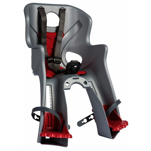 Купить Переднее велокресло Bellelli Rabbit Standard B-Fix, серебристый, Велокресла