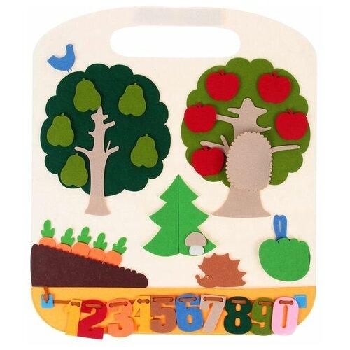 Настольная игра SmileDecor Коврик-игралка в дорогу Лес настольная игра smiledecor сумка игралка овощи фрукты и ягоды