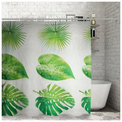 Штора для ванной Доляна Сафари 180x180 сафари штора для ванной доляна малевич 180x180 малевич