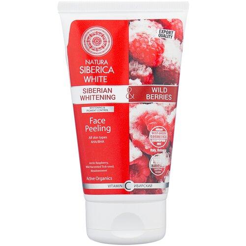Купить Natura Siberica пилинг для лица White siberian whitening & wild berries Face Peeling 150 мл