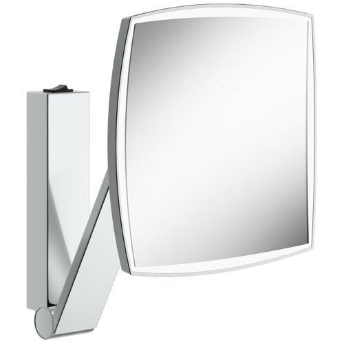 зеркало косметическое настенное keuco bella vista 17605019000 с подсветкой Зеркало косметическое настенное KEUCO iLook_ move (17613019004) с подсветкой хром