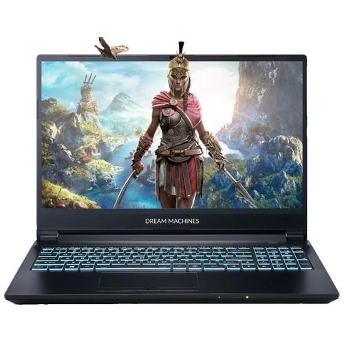 "Ноутбук Dream Machines G1650Ti-15RU40 (Intel Core i5 10300H 2500MHz/15.6""/1920x1080/8GB/512GB SSD/NVIDIA GeForce GTX 1650 Ti 4GB/без ОС) G1650Ti-15RU40 черный"