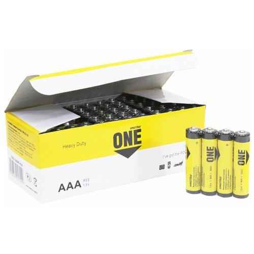 Фото - Батарейка Smartbuy Shrink4 R3 ONE ECO (цена за 60 шт.) батарейка smartbuy one eco alkaline aa 40 шт