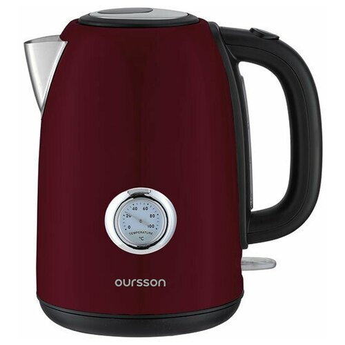 Электрический чайник, Oursson, Темная вишня, EK1752M/DC