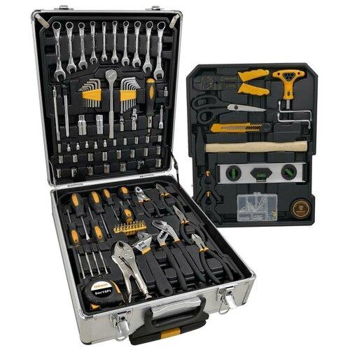 Фото - Набор автомобильных инструментов DEKO DKMT187, 187 предм., черный/желтый набор инструментов deko tz82 82 предм черный желтый