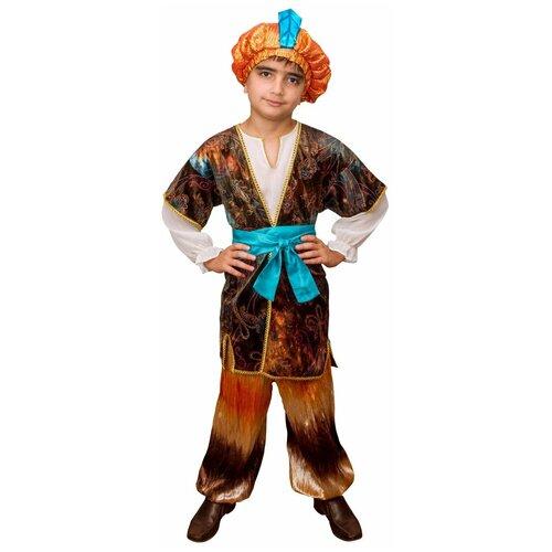 Костюм Маскарад у Алисы Восточный принц, коричневый, размер 32(128) костюм маскарад у алисы восточный принц коричневый размер 32 128