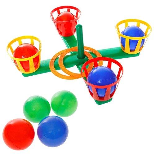 Купить Кольцеброс Юг-Пласт с корзинами (7004), Юг-пласт, Спортивные игры и игрушки