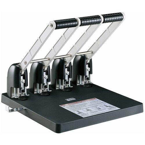 Фото - Дырокол KW-triO Power 9540 4 отверстия 150 листов, черный дырокол kw trio 999d 2 4 отверстия 10 листов черный