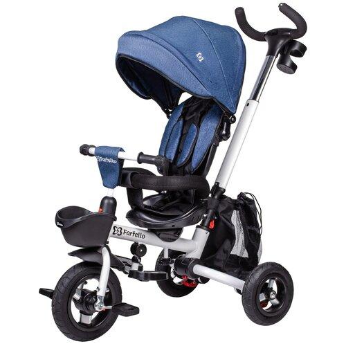 Купить Детский трехколесный велосипед Farfello S-01, Синий, Трехколесные велосипеды