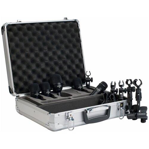 Комплект микрофонов Audix FP5, черный