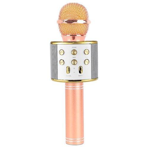 Беспроводной караоке-микрофон WS-858 (бриллиант)
