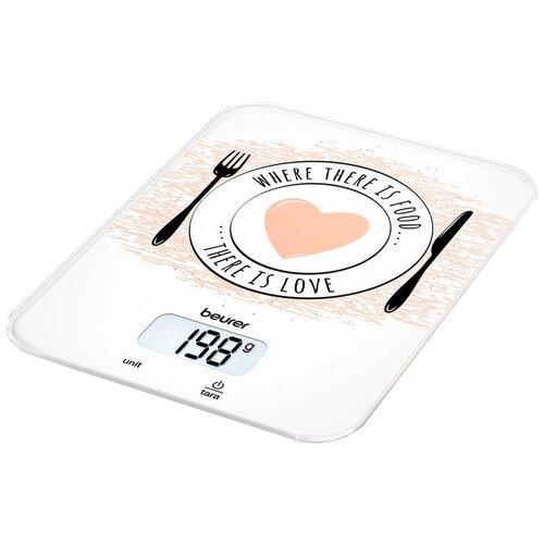 Фото - Кухонные весы Beurer KS 19 Love кухонные весы beurer ks 51