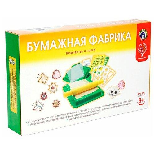 Набор Маленький гений Бумажная фабрика
