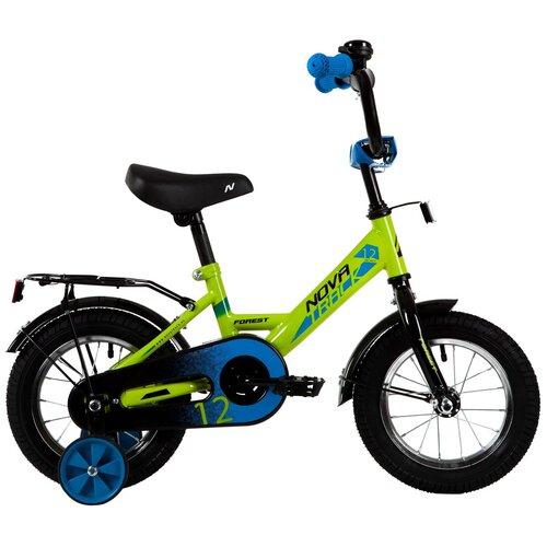 Фото - Детский велосипед Novatrack Forest 12 (2021) зеленый (требует финальной сборки) детский велосипед novatrack twist 20 2020 зеленый требует финальной сборки