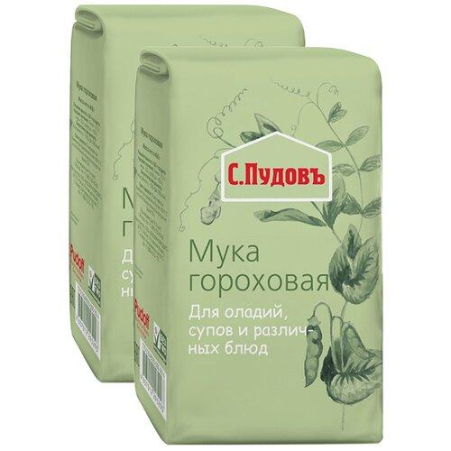 Мука С.Пудовъ гороховая, 2 шт, 0.4 кг