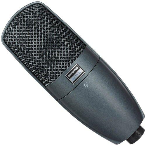 Микрофон Shure BETA 27, черный