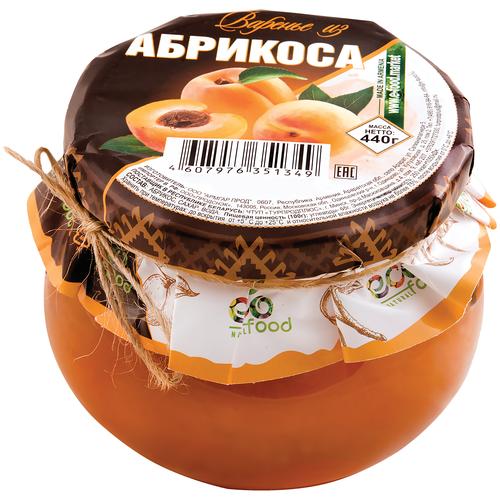Варенье из абрикоса, 440г ECOFOOD