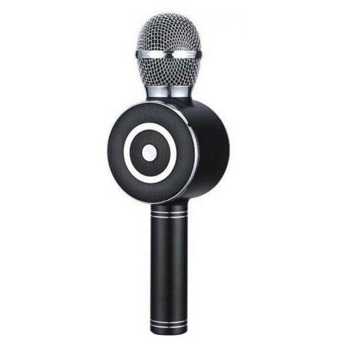 Беспроводной караоке-микрофон WS-669 (чёрный)