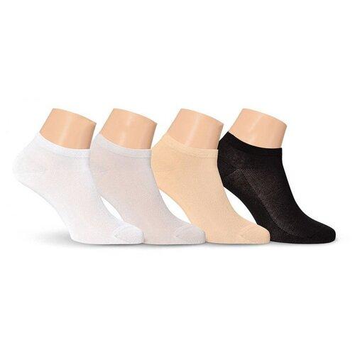 Носки мужские LorenzLine Е15 короткие в сетку, Бежевый, 25 (размер обуви 39-40)