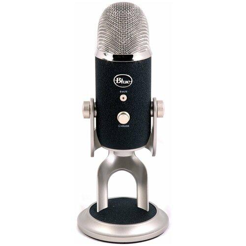 Микрофон Blue Yeti Pro, черный