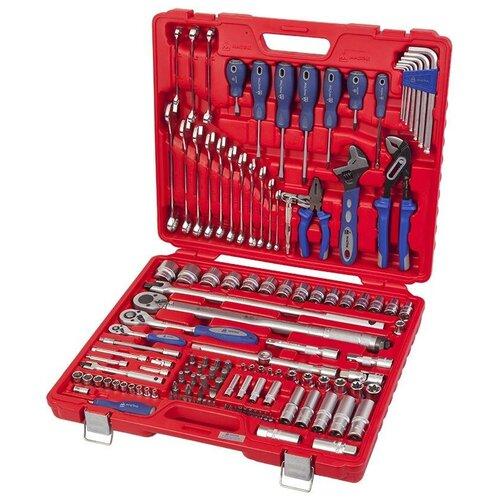 Фото - Набор инструментов МАСТАК 0-133C, 133 предм., красный набор отверток мастак 04 20c 20 предм красный синий