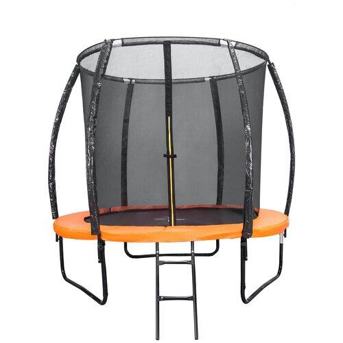 Фото - Каркасный батут DFC Trampoline Kengoo II 6FT-BAS-BO 183х183х230 см оранжевый/черный каркасный батут dfc trampoline kengoo ii 16ft bas bo оранжевый
