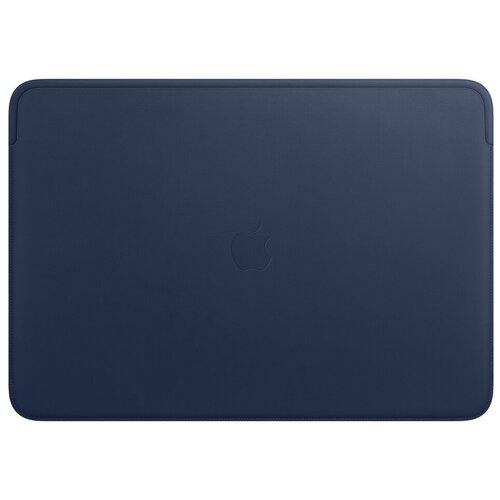 Чехол Apple Leather Sleeve for MacBook 16 Midnight blue