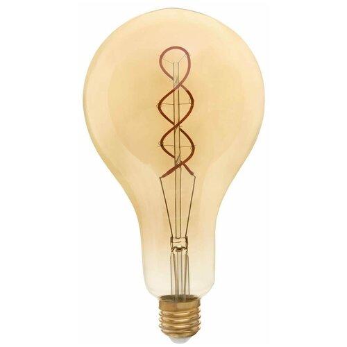 Лампа светодиодная филаментная Thomson E27 8W 1800K груша прозрачная TH-B2172 лампа thomson светодиодная филаментная e27 4w 1800k цилиндр прозрачная th b2199