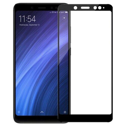 Фото - Защитное стекло Nuobi 0.3mm 9H для Xiaomi Redmi Note 5/Note 5 Pro (9D) (Черный) защитное стекло glass 0 3mm 9h для xiaomi redmi note 5 белый