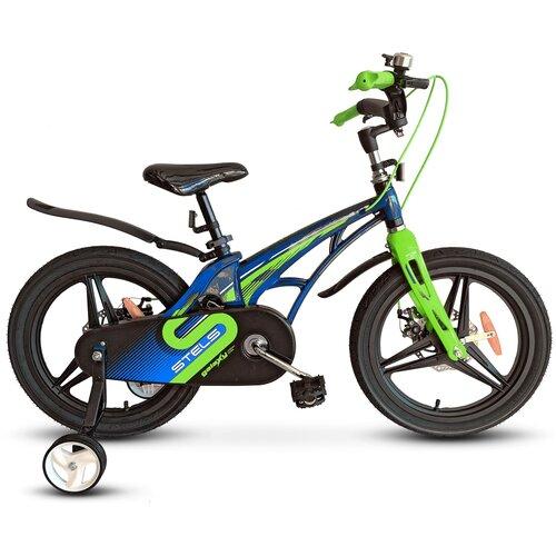 детский велосипед yibeigi v 14 синий Детский велосипед STELS Galaxy Pro 14 V010 (2021) синий/зелёный (требует финальной сборки)