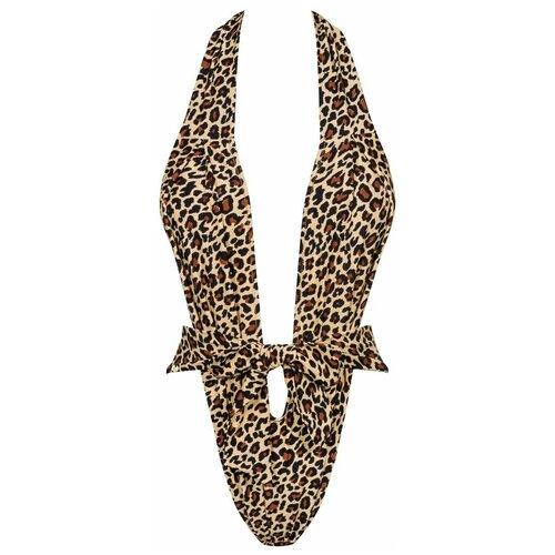 Купальник Obsessive, размер S-M-L, леопард obsessive трусы ivetta стринги размер s m бордовый