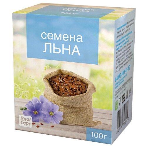 Семена льна RealCaps посевной (обыкновенный), 100 г