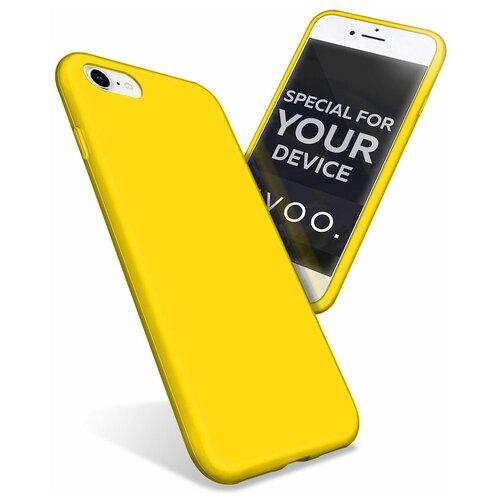 Чехол для iPhone 7 / 8 . Накладка - бампер на айфон 7 / 8. Желтый. Желтый