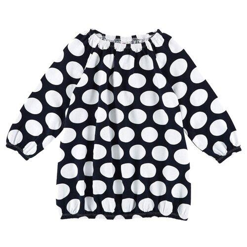 Платье Mini Maxi размер 104, темно-синий/белый платье modis размер 104 белый