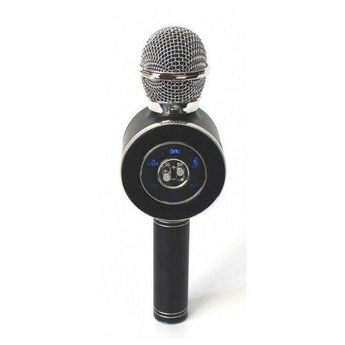 Беспроводной караоке-микрофон WS-668 (чёрный)