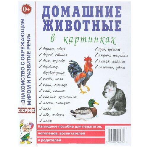 Фото - Кулакова Н. Наглядное пособие Домашние животные в картинках дикие и домашние животные наглядное пособие