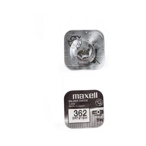 Фото - Батарейка Maxell SR721SW, 1 шт. батарейка maxell sr 621sw 1 шт