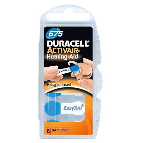 Фото - Батарейки Duracell ActiveAir Nugget Box ZA675 DA675/6BL батарейки perfeo za312 6bl airozinc premium 6 штук