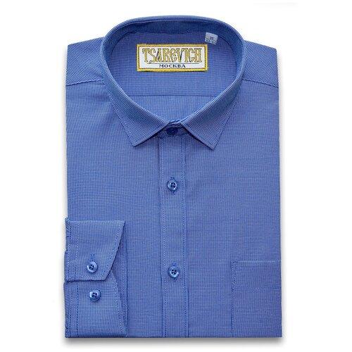 Рубашка Tsarevich размер 33/140-146, синий