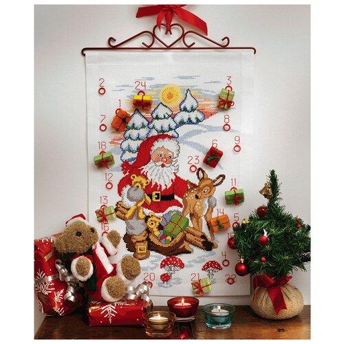 Купить Набор для вышивания Anchor Santa, Deer & Bears Calenda 24*35см, MEZ Венгрия, 9240000-00503, Наборы для вышивания