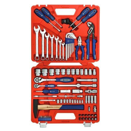 Фото - Набор инструментов МАСТАК 0-085C, 85 предм., красный/синий набор отверток мастак 04 20c 20 предм красный синий