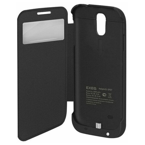 Чехол-аккумулятор для Samsung Galaxy S4 Exeq HelpinG-SF07 (черный)