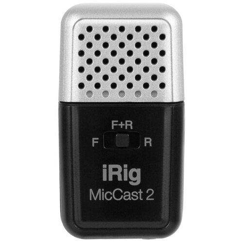 Микрофон IK Multimedia iRig Mic Cast 2, серебристый/черный
