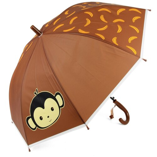 Зонт Amico коричневый