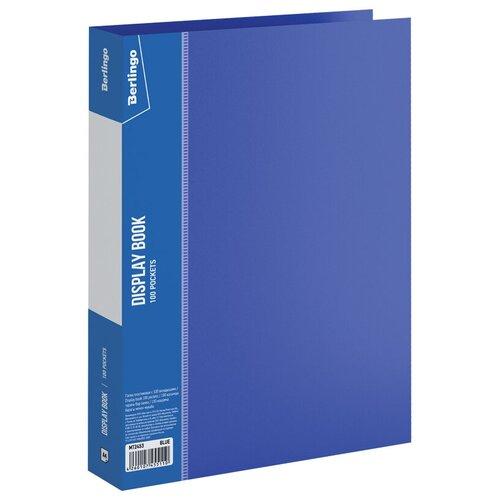 Фото - Berlingo Папка со 100 вкладышами Standard A4, пластик синий berlingo папка со 100 вкладышами standard a4 пластик синий