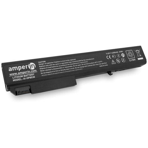 Аккумуляторная батарея Amperin для ноутбука HP EliteBook 8530P 14.8V 4400mAh (65Wh) AI-HP8530