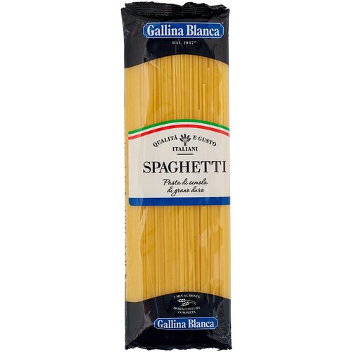 Фото - Gallina Blanca Макароны Спагетти, 450 г макароны gallina blanca 450 г спагетти