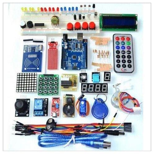 Набор для моделирования Ардуино (Arduino UNO R3) 9V Maximum KIT с RFID модулем