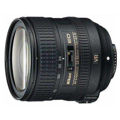 Фото - Объектив Nikon 24-85mm f/3.5-4.5G ED VR AF-S Nikkor объектив nikon af s nikkor 500mm f 5 6e pf ed vr