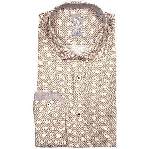 Рубашка pure размер M светло-коричневый